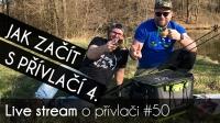 VIDEO: Přívlač Live #50 - Jak začít s přívlačí 4.