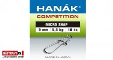 Mikrokarabínka Hanák 9 mm, 5,5 kg - 10 ks