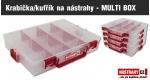 ZDARMA krabička/kufrík na nástrahy - MULTI BOX (8,-) - obj. nad 78,- EUR