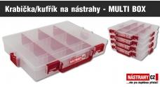 Krabička/kufrík na nástrahy - MULTI BOX