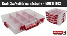 ZDARMA 1 x krabička/kufrík na nástrahy - MULTI BOX (8,-) - obj. nad 78,- EUR