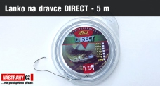 Jemné lanko pre náväzce na dravca DIRECT - 5 m