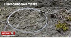 """Fluorocarbonové """"lanko"""" 15 kg - 2 ks"""