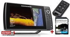 Humminbird HELIX 10x CHIRP MSI+ GPS G4N + karta AUTOCHART ZDARMA
