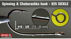 Spinning & Cheburashka hooks 825 Sickle