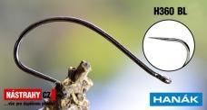 Bezprotigrotý háčik HANÁK H360BL