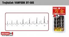 Trojháčik VANFOOK DT-58S