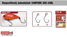 Bezprotihrotý jednoháčik na woblery VANFOOK SOC-33BL