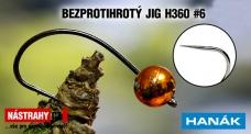 Wolfrám BL jig H360 #6, 5ks