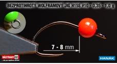 Wolfrám BL jig H15S #10, 5ks