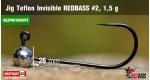 BL Jig Teflon Invisible #2 - 1,5 g, 5 ks