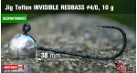 BL Jig Teflon Invisible #4/0 - 10 g, 5 ks