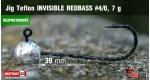 BL Jig Teflon Invisible #4/0 - 7 g, 5 ks