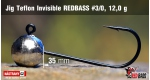 Jig Teflon Invisible #3/0 - 12,0 g, 5 ks +0,16 €