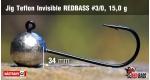 Jig Teflon Invisible #3/0 - 15,0 g, 5 ks +0,16 €