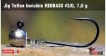 Jig Teflon Invisible #3/0 - 7,0 g, 5 ks