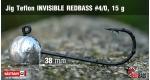 Jig Teflon Invisible #4/0 - 5 ks, 15 g