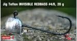 Jig Teflon Invisible #4/0 - 5 ks, 20 g +0,24 €