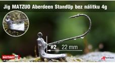 MATZUO Aberdeen standup bez náliatka veľ. 2 - 22 mm - 5 ks