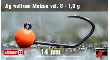 Jigová wolframová hlavička Matzuo vel. 8 - 14 mm - 5 ks