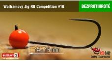 Bezprotihrotý wolfrámový jig RB Competition #10 - 14 mm - 5ks