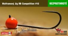 Bezprotihrotý wolframový jig RB Competition #10 - 14 mm - 5ks