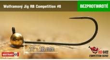 Bezprotihrotý wolfrámový RB Competition #8 - 18 mm - 5ks