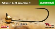 Bezprotihrotý wolframový RB Competition #8 - 18 mm - 5ks