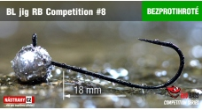 Bezprotihrotý RB Competition #8 - 18 mm - 5ks