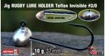 Jig Teflon RUGBY - Lure holder #3/0, 10 g, 5 ks