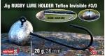 Jig Teflon RUGBY - Lure holder #3/0, 20 g, 5 ks +0,16 €