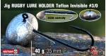 Jig Teflon RUGBY - Lure holder #3/0, 40 g, 5 ks +0,56 €