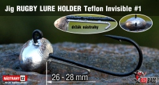 Jig Teflon Invisible RUGBY - Lure holder # 1, 5 pcs