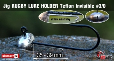 Jig Teflon Invisible RUGBY - Lure holder # 3/0, 5 pcs