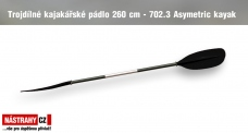 Trojdielne pádlo 260 cm - 702.3 Asymetric