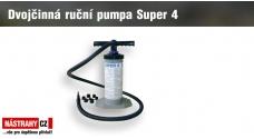 Dvojčinná ručná pumpa Super 4