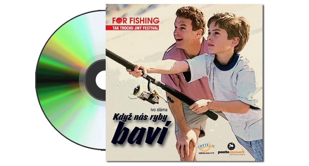 """Hudební CD """"Když nás ryby baví"""""""