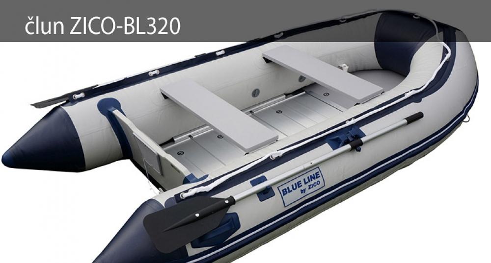 Nafukovací čln ZICO BL320