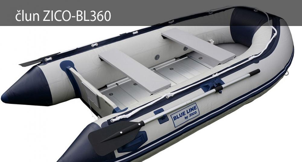 Nafukovací čln ZICO BL360