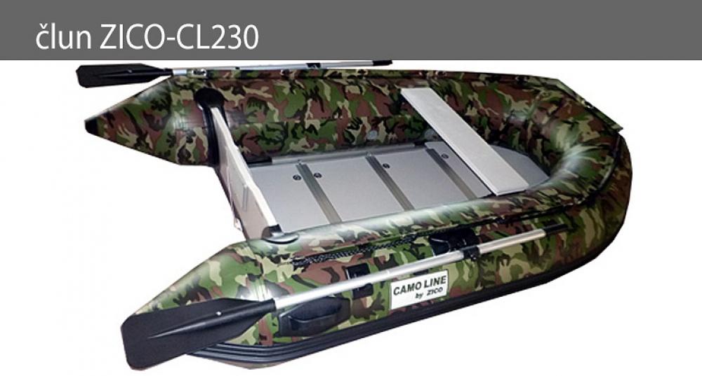 Nafukovací čln ZICO CL230