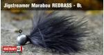 Jigstreamer Marabou REDBASS - BL