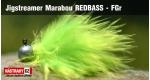 Jigstreamer Marabou REDBASS - FGr