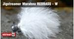 Jigstreamer Marabou REDBASS - W