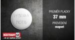 průměr 37 mm - magnet +0,39 €