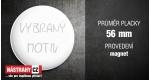 průměr 56 mm - magnet +0,59 €