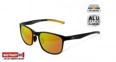 Polarizačné okuliare Delphin SG BLACK oranžová sklá