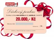 Poukaz 800, - EUR