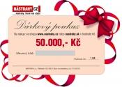 Poukaz 2000, - EUR