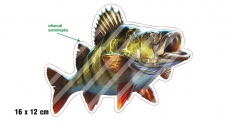 Rybárska samolepka OSTRIEŽ 2 P