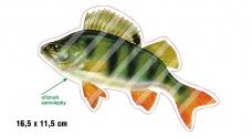 Rybárska samolepka OSTRIEŽ 1 L